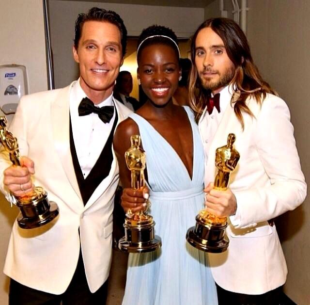 Mathew+Lupita+Jared+Oscar+2014