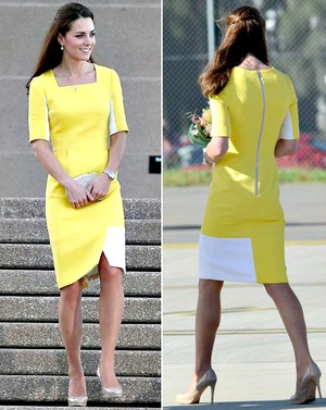 Kate+Middletons+Yellow+Dress2