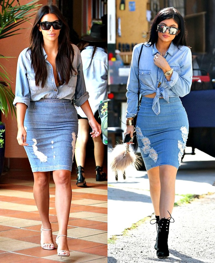 Kylie Jenner Copies All Of Kim Kardashian 39 S Fashion Style The Hotjem Africa 39 S 1 Fashion