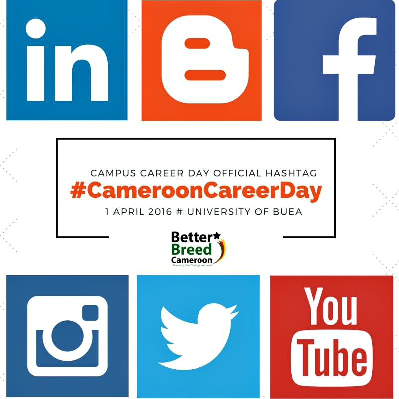 Campus Career Day Hash Tag
