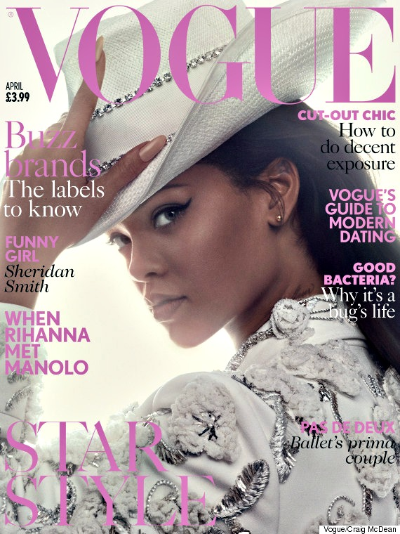 Rihanna_Vogue UK April Cover