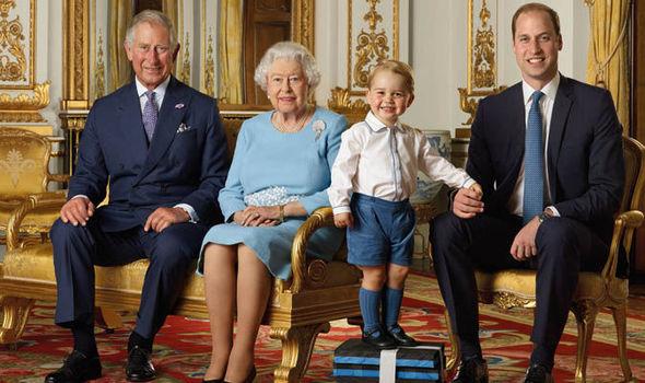 photo de famille royale de 90e anniversaire