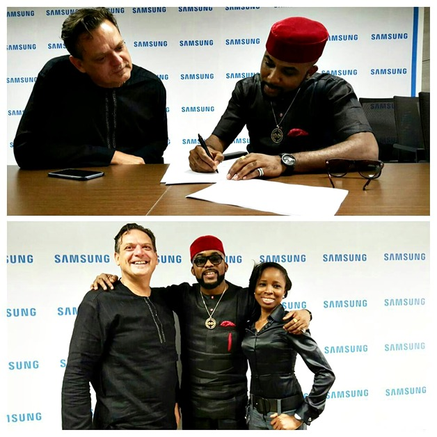 Banky W and Samsung