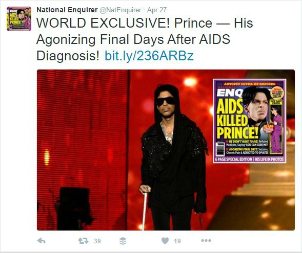 National Enquirer Prince