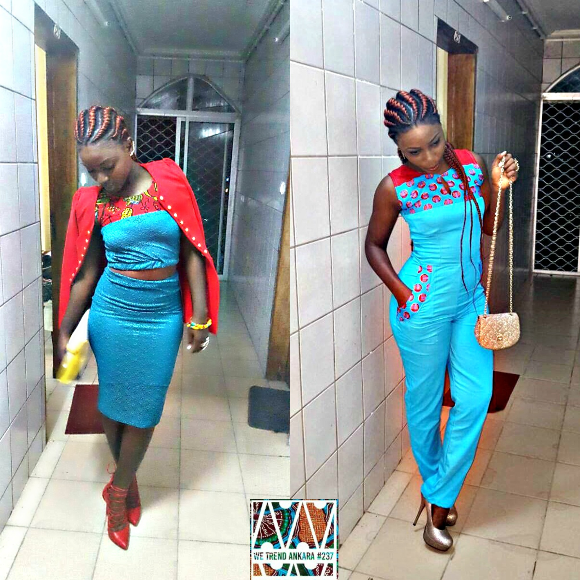Buea Fashion Week WTA237 collage