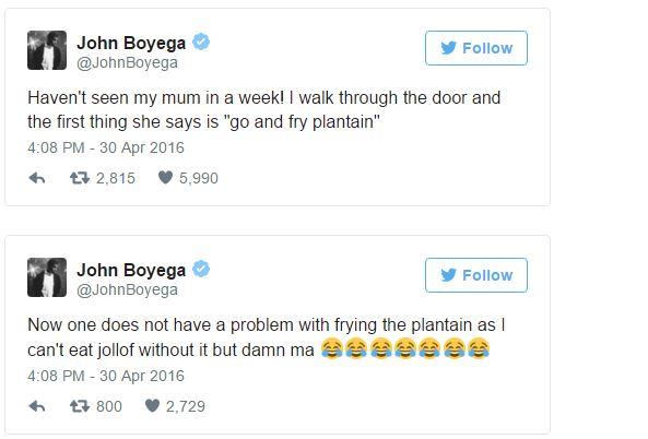 John Boyega Twitter