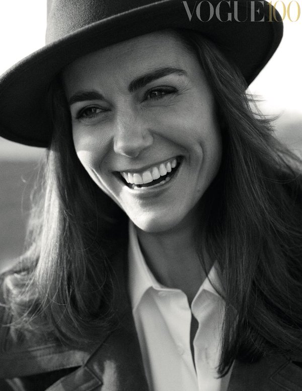 Kate on British Vogue
