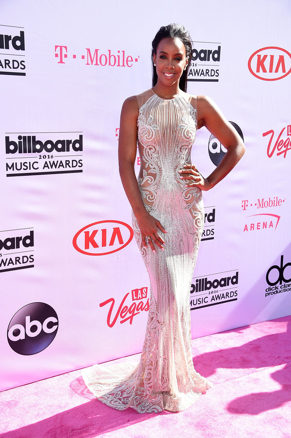 LAS VEGAS, NV - MAY 22: Recording artist Kelly Rowland attends the 2016 Billboard Music Awards at T-Mobile Arena on May 22, 2016 in Las Vegas, Nevada. (Photo by Steve Granitz/WireImage)