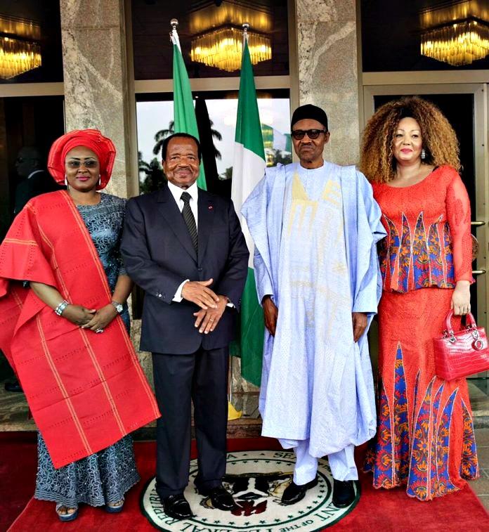 Mme Biya et Buhari1