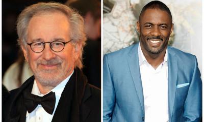 PHOTO: Steven Spielberg, Idris Elba