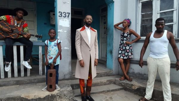 "PHOTO: Ric Hassani - ""Gentleman"" BTS. Photo Credit: 360nobs.com"