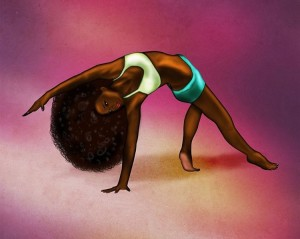 THIS MYSTERY PERSON'S ART WORK WILL CONVINCE YOU THAT BLACK WOMEN ARE BEAUTIFUL!